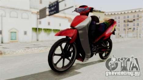 Suzuki RGX 120 для GTA San Andreas вид справа