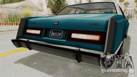 GTA 5 Dundreary Virgo Classic Custom v3 IVF для GTA San Andreas салон