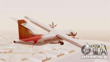 ATR 72-600 Air India Regional для GTA San Andreas вид справа