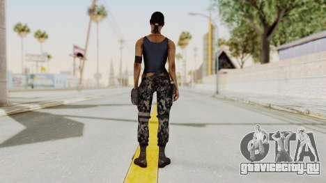 Mortal Kombat X Jacqui Briggs Boot Camp для GTA San Andreas третий скриншот