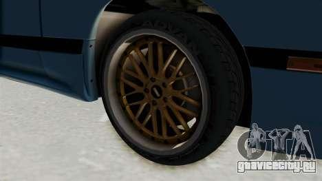 Mazda RX-7 FC3S для GTA San Andreas вид сзади