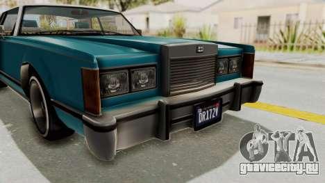 GTA 5 Dundreary Virgo Classic Custom v3 IVF для GTA San Andreas вид сбоку