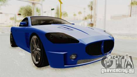 GTA 5 Ocelot F620 IVF для GTA San Andreas