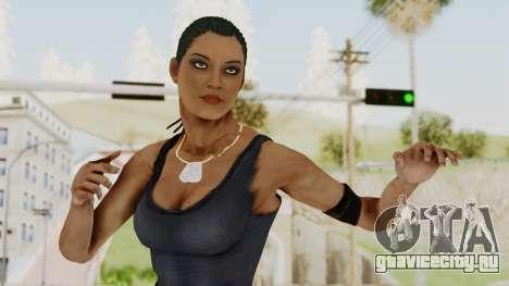 Mortal Kombat X Jacqui Briggs Boot Camp для GTA San Andreas