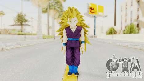 Dragon Ball Xenoverse Gohan Teen DBS SSJ3 v1 для GTA San Andreas второй скриншот