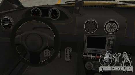 GTA 5 Ocelot F620 SA Lights для GTA San Andreas вид изнутри