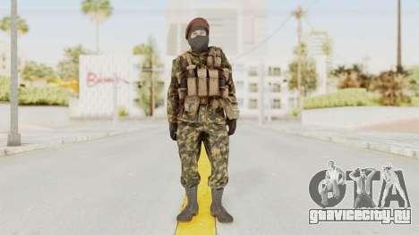 COD Black Ops Russian Spetznaz v4 для GTA San Andreas второй скриншот