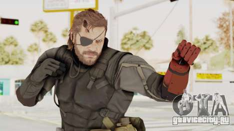 MGSV Phantom Pain Venom Snake Sneaking Suit для GTA San Andreas