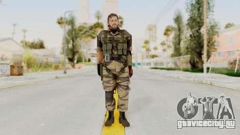 MGSV The Phantom Pain Venom Snake No Eyepatch v2 для GTA San Andreas второй скриншот