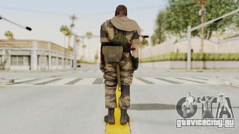 MGSV The Phantom Pain Venom Snake Sc No Patch v2 для GTA San Andreas третий скриншот