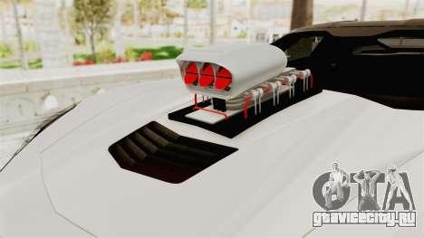 Chevrolet Corvette Stingray C7 Monster Truck для GTA San Andreas вид сзади