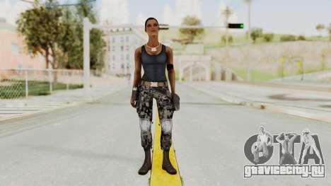 Mortal Kombat X Jacqui Briggs Boot Camp для GTA San Andreas второй скриншот