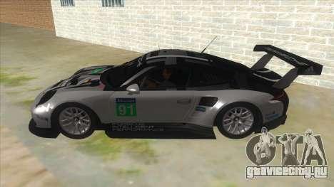 2016 Porsche 911 RSR для GTA San Andreas вид слева