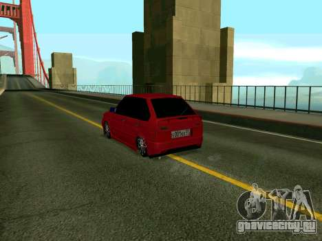 VAZ 2114 KBR для GTA San Andreas вид слева