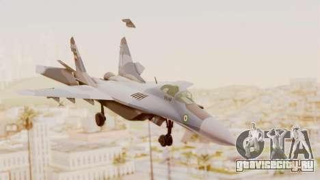 MIG-29A IRIAF для GTA San Andreas