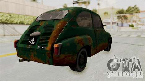 Zastava 750 Rusty для GTA San Andreas вид слева