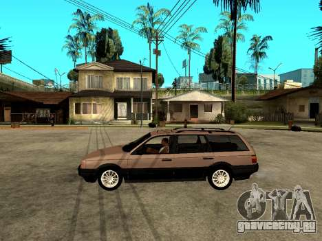 Volkswagen Passat B3 Variant для GTA San Andreas вид слева