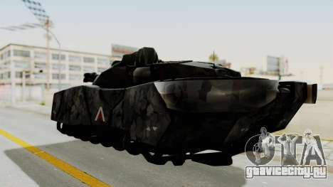 T-470 Hover Tank для GTA San Andreas вид слева