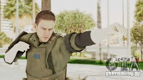 MGSV Ground Zeroes MSF Medic для GTA San Andreas