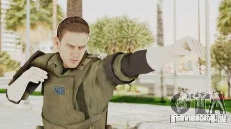 MGSV Ground Zeroes MSF Medic для GTA San Andreas