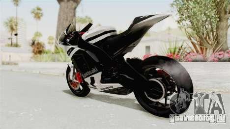 Kawasaki Ninja ZX-RR Streetrace для GTA San Andreas вид слева