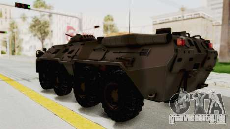 BTR-80 Desert Turkey для GTA San Andreas вид слева