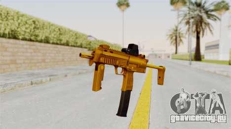 MP7A1 Gold для GTA San Andreas второй скриншот