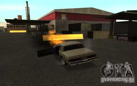 Переворот машины для GTA San Andreas четвёртый скриншот