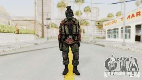 Battery Online Russian Soldier 8 v1 для GTA San Andreas второй скриншот