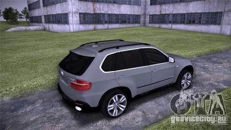 BMW X5 E70 для GTA San Andreas вид справа