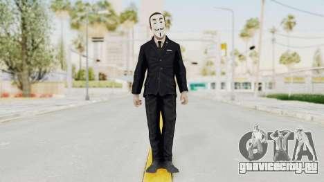 COD BO Nixon Anonymous для GTA San Andreas второй скриншот