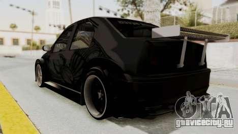 Dacia Logan Loco Tuning для GTA San Andreas вид слева