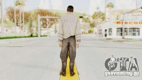 AC Brotherhood - Ezio Auditore Short Hair Civil для GTA San Andreas третий скриншот