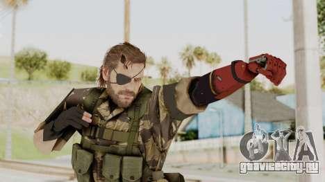 MGSV The Phantom Pain Venom Snake Tiger для GTA San Andreas