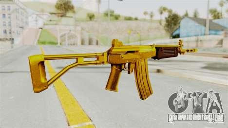 Galil Gold для GTA San Andreas второй скриншот