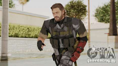 MGSV The Phantom Pain Venom Snake No Eyepatch v7 для GTA San Andreas