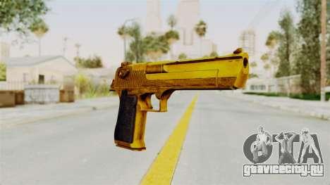 Desert Eagle Gold для GTA San Andreas второй скриншот