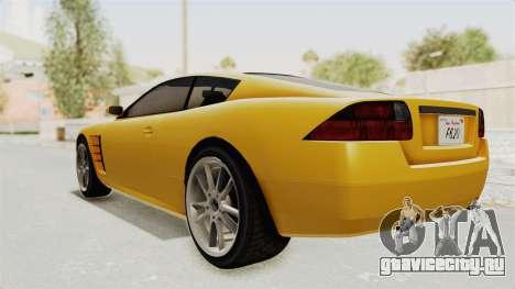 GTA 5 Ocelot F620 SA Lights для GTA San Andreas вид справа