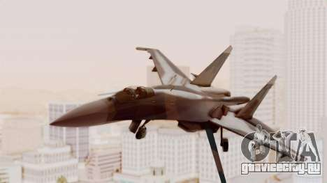 Sukhoi SU-27 Flanker A Ukrainian Air Force для GTA San Andreas