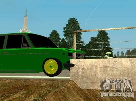 ВАЗ 2106 Шаха для GTA San Andreas вид сзади
