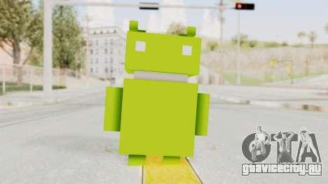 Crossy Road - Android Robot для GTA San Andreas второй скриншот