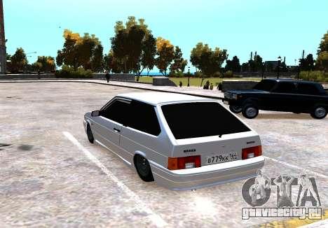 ВАЗ 2113 для GTA 4 вид сзади слева