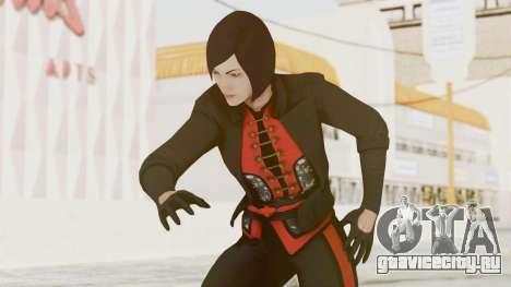 Batman Arkham Origins - Lady Shiva для GTA San Andreas