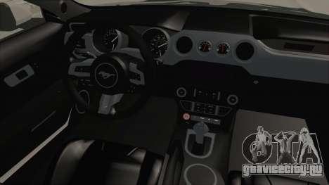Ford Mustang GT 2015 Monster Truck для GTA San Andreas вид изнутри