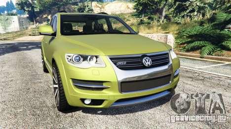 Volkswagen Touareg R50 2008 для GTA 5
