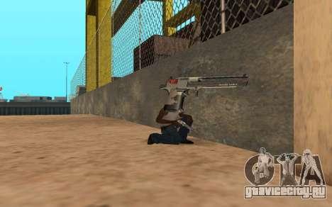 Desert Eagle Cyrex для GTA San Andreas четвёртый скриншот