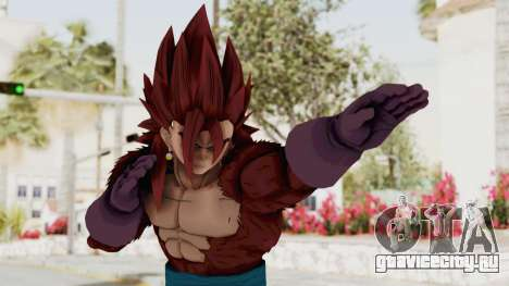 Dragon Ball Xenoverse Vegito SSJ4 для GTA San Andreas