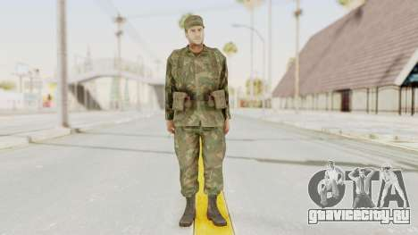 MGSV Ground Zeroes US Soldier Armed v2 для GTA San Andreas второй скриншот