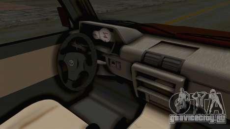 Toyota Kijang Prinz Eugen Itasha для GTA San Andreas вид изнутри