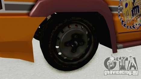 Toyota Kijang Prinz Eugen Itasha для GTA San Andreas вид сзади